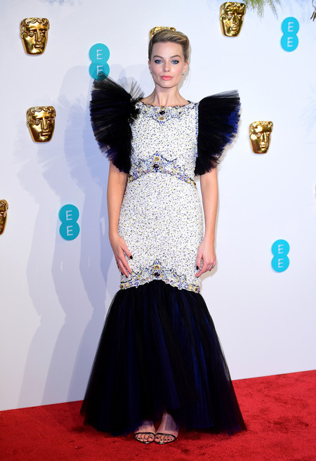 Margot Robbie Bafta 2019 01