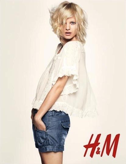 Foto de Campaña H&M Primavera-Verano 2011 con Freja Beha Erichsen y Raquel Zimmermann (6/16)