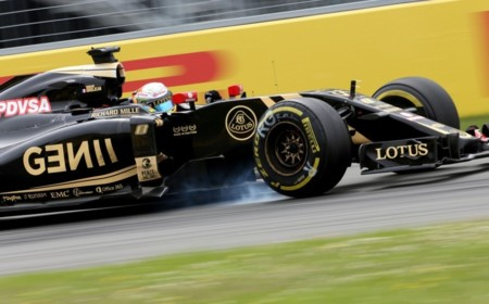 Romain Grosjean Lotus E23