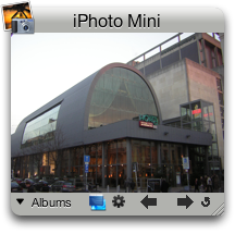 widget: iPhoto mini