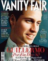 El Príncipe Guillermo en la portada de Vanity Fair