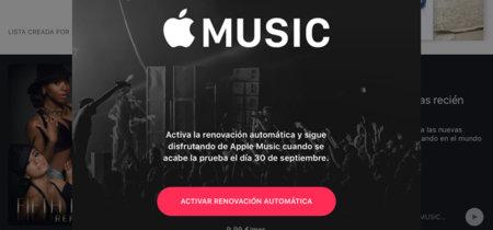 La suscripción gratuita a Apple Music terminará mañana para muchos usuarios, ¿estás preparado?