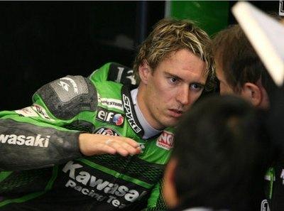 West seguirá con Kawasaki en el 2008