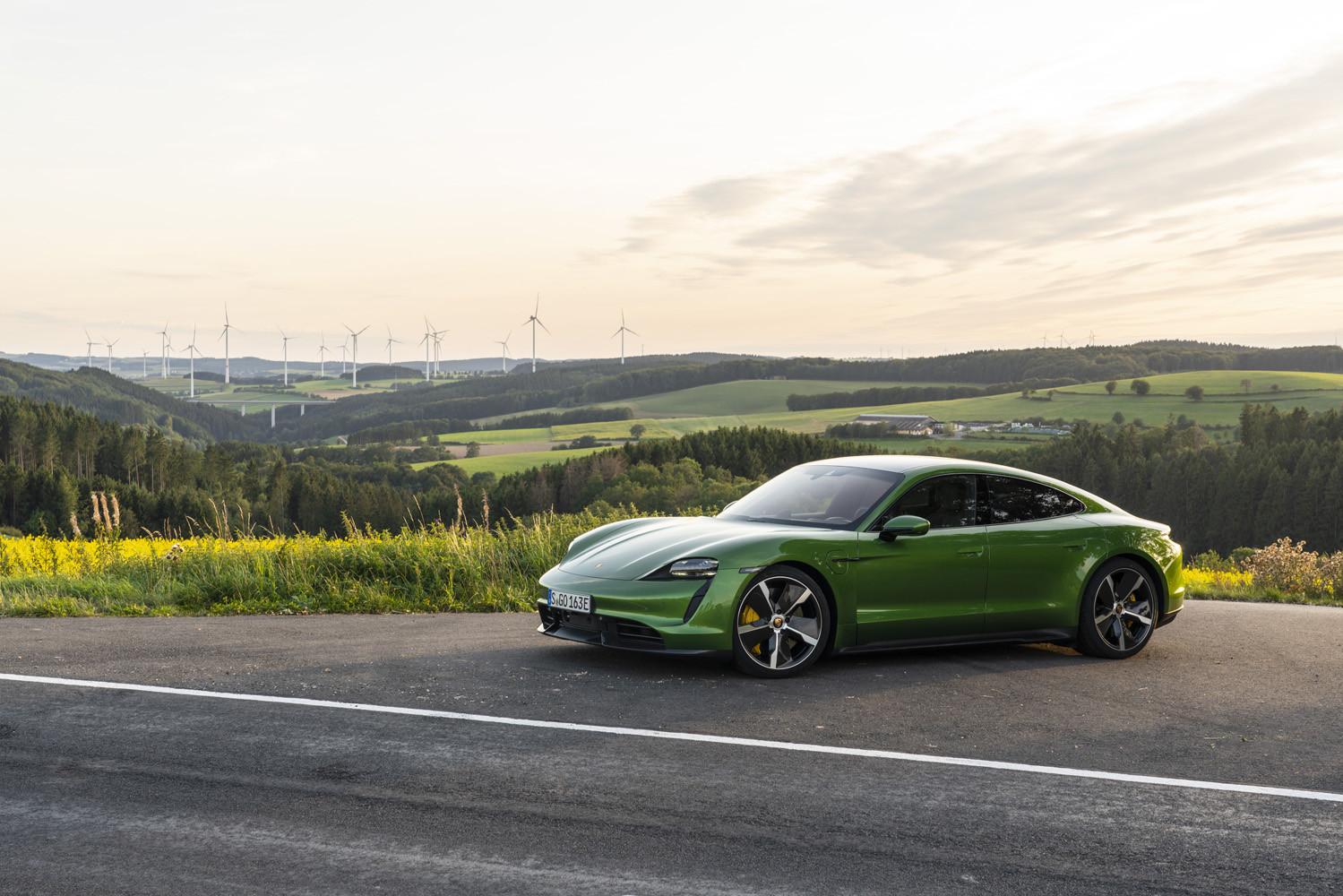 Foto de Porsche Taycan prueba contacto (224/275)