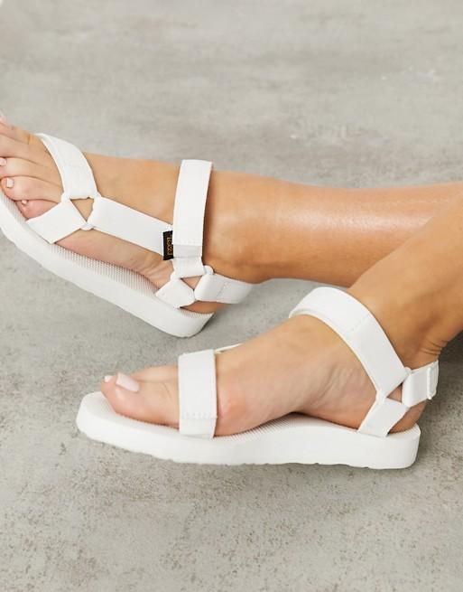 Sandalias blancas Original Universal de Teva