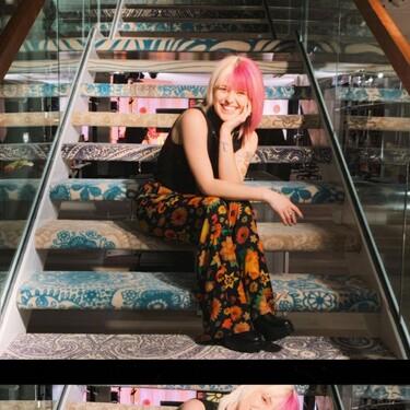 Alba Reche y los pantalones de flores que nos pondríamos toda la primavera del Desigual Shopping Festival