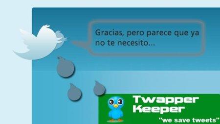 Otro K.0. de Twitter: TwapperKeeper