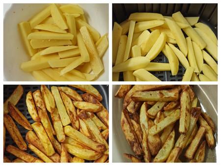 Patatas fritas freidora de aire sin aceite Cosori