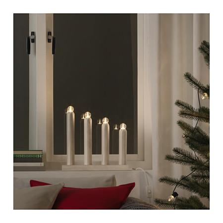 Navidad Strala Candel Brzled Blanco 0498738 Pe629795 S4