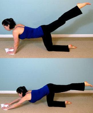 Trabaja tu zona media con un sencillo ejercicio