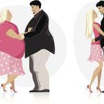 Las parejas con obesidad pueden necesitar más del doble de tiempo para lograr el embarazo