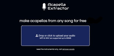 Acapella Extractor Make Acapellas From Any Song For Free