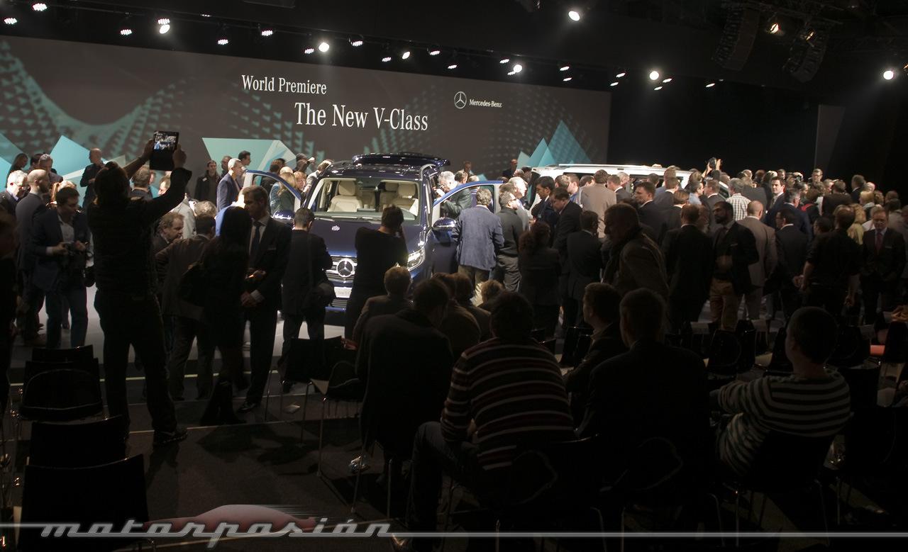 Foto de Mercedes-Benz Clase V (presentación) (35/40)
