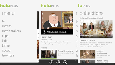 Hulu lanza su aplicación para Windows Phone