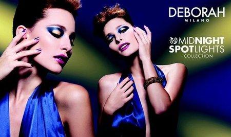 """Deborah Colección Maquillaje Navidad 2011: párpados cobalto efecto """"El Zorro"""""""