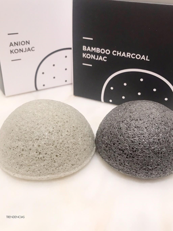Sigo sumando productos coreanos a mi rutina periodica con las esponjas Konjac 100% naturales de Miin-Cosmetics