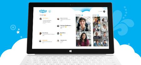 Skype actualiza los clientes de Android y Windows 8 preparando el futuro