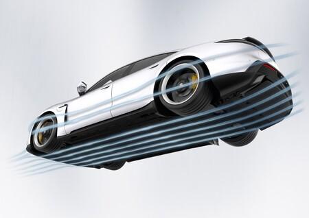 Aerodinamica Inferior Porsche Taycan