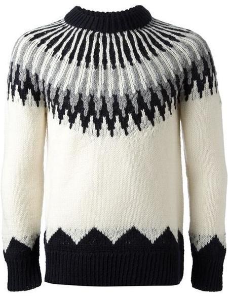 Un suéter de Moncler para los entusiastas del estilo 'après ski'