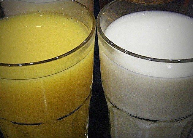 cual es el ph del jugo de naranja natural