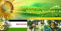 Kiwi de Hongyang, el kiwi rojo