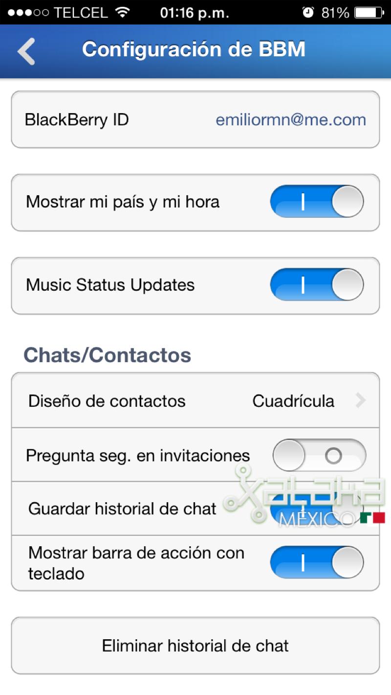 Foto de BBM para iOS (6/9)