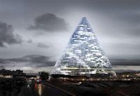 Una gran pirámide competirá en París con la Torre Eiffel