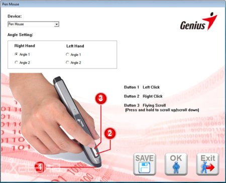 Genius Pen Mouse