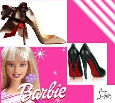 Barbie tendrá sus propios Christian Louboutin