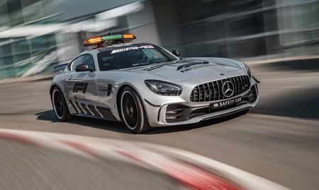 Mercedes-AMG GT R F1 Safety Car 2018, aka el coche de seguridad más potente de la historia