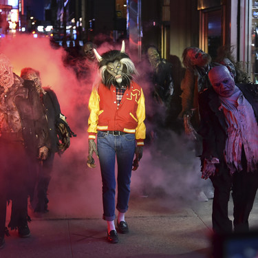 Heidi Klum lo ha vuelto a lograr: ser la reina de Halloween con un disfraz alucinante