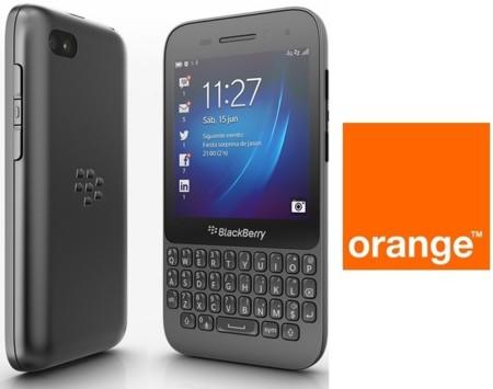 Precios Blackberry Q5 con Orange y comparativa con la competencia