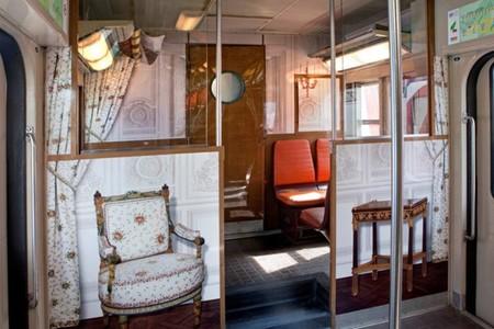 Interior del tren Transilien Versalles