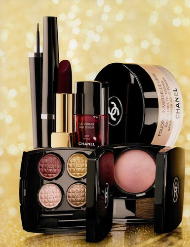 Paleta Chanel Navidad