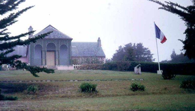 Longwood House, casa de destierro de Napoleón en Santa Helena