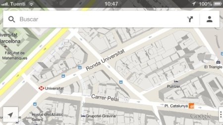 google maps mapas ios