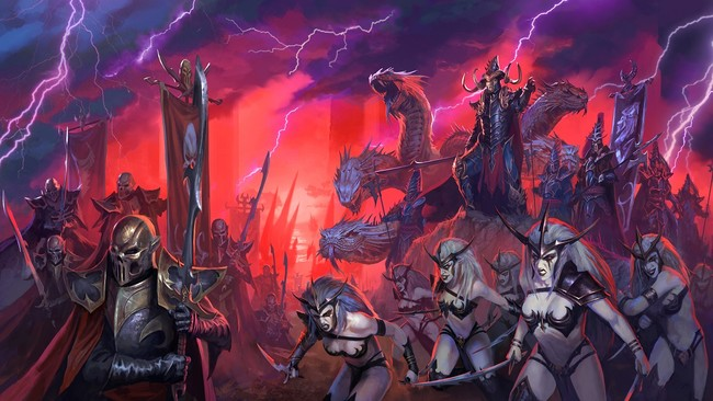Total War Warhammer Ii Elfos Oscuros