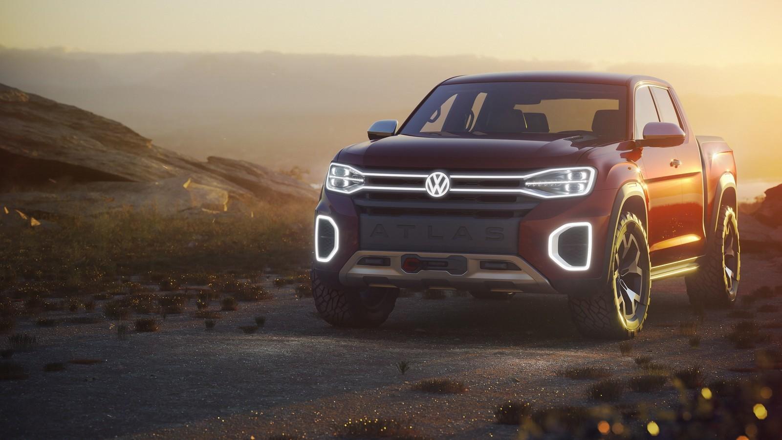 Foto de Volkswagen Atlas Tanoak Pickup concept (1/6)