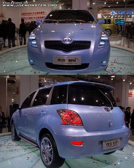 Toyota Yaris Chino