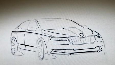 La próxima generación del Škoda Superb, que saldrá en 2016, contará con un híbrido enchufable