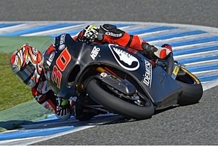 Romano Fenati y Takaaki Nakagami, los más rápidos en el arranque del test de Jerez
