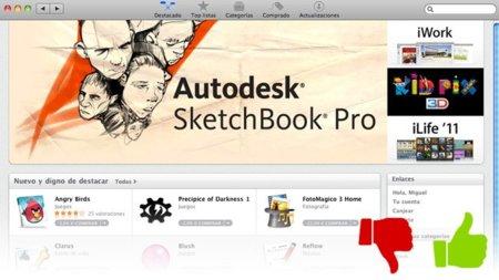 Lo mejor y lo peor de la nueva Mac App Store