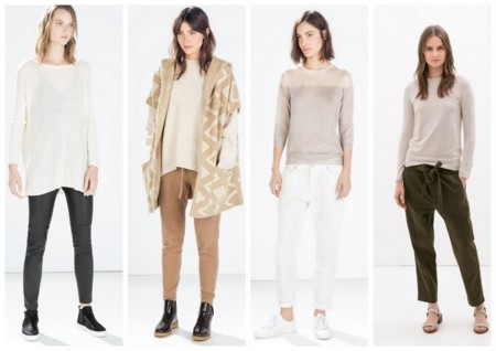 Zara prendas punto otoño invierno 2014 2015