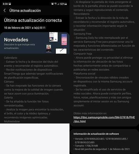 Samsung Galaxy S20 Fe 0ne Ui 31