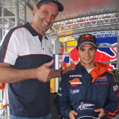 Dani Pedrosa lucha contra las lesiones de médula