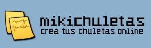 Mikichuletas, editor online de chuletas