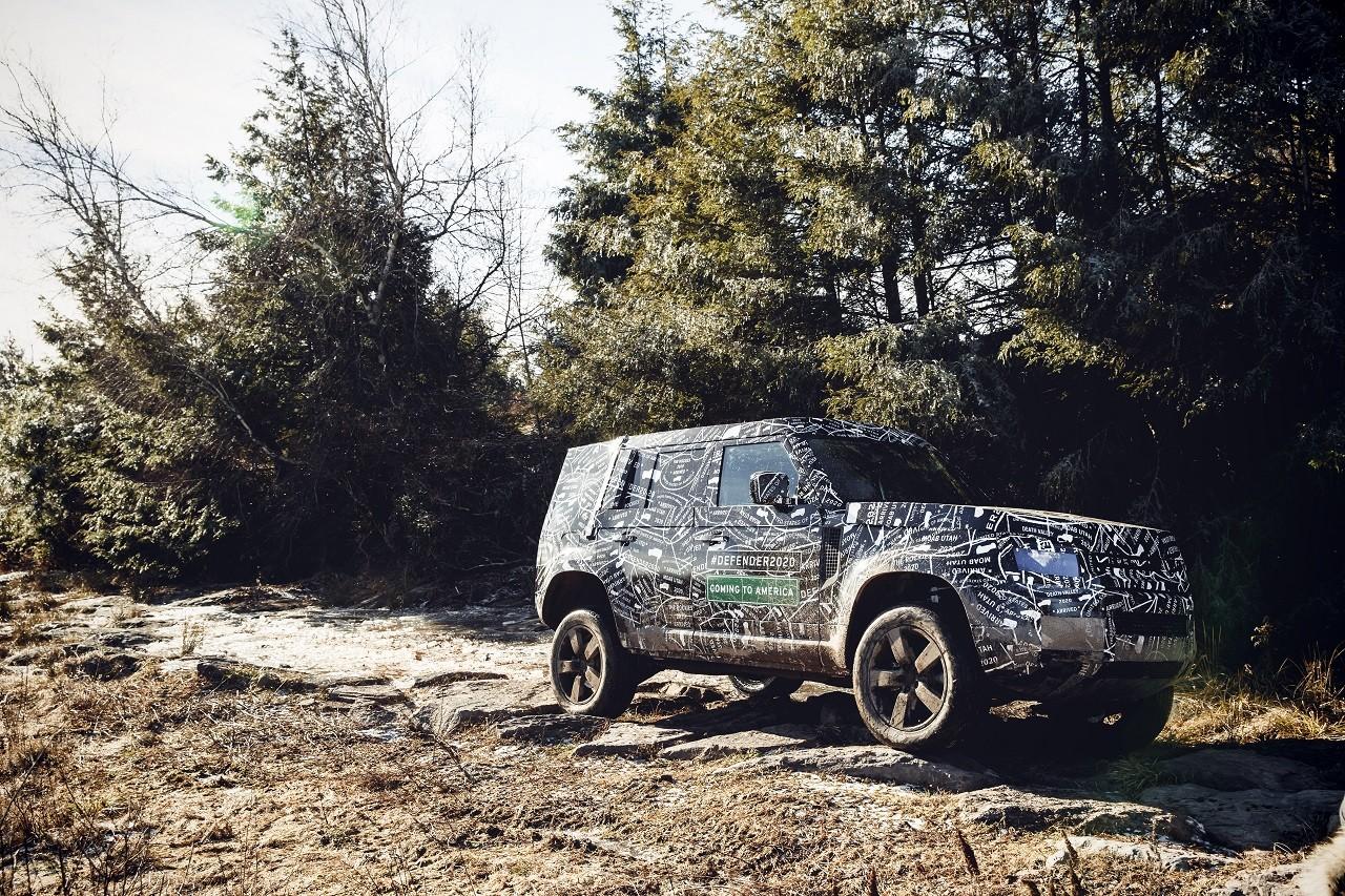 Land Rover Defender 2020 primeras fotos oficiales