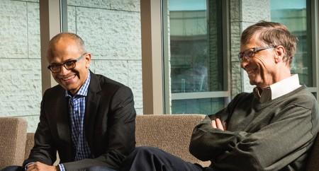 Bill Gates Satya Nadella