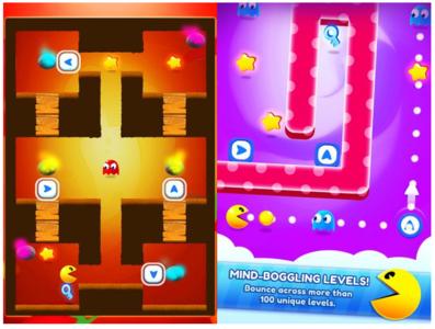 PacMan Bounce es probablemente el mejor juego de PacMan que hayamos visto últimamente
