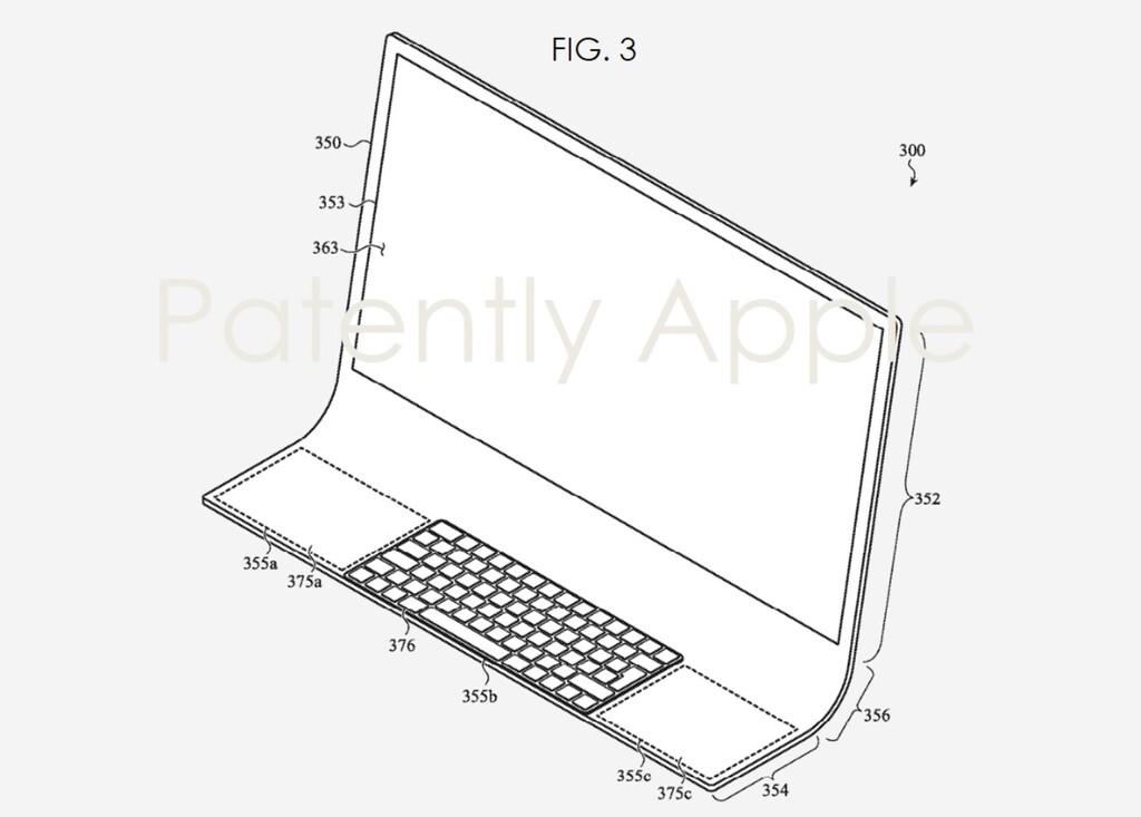Un iMac de cristal doblado y un MacBook con sensores de salud: las nuevas patentes de Apple que miran al futuro